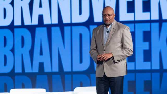 Rodney Williams at Brandweek