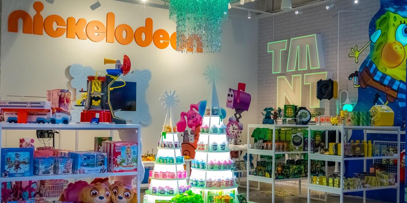 Nickelodeon store