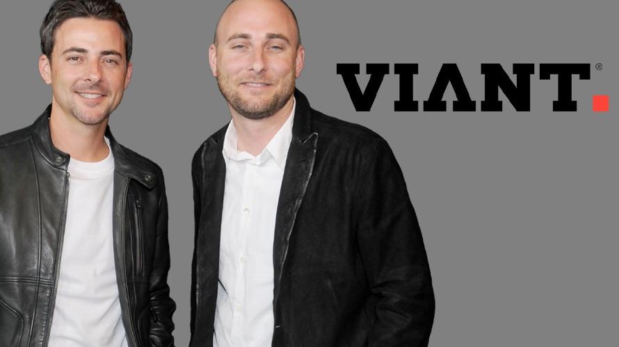 Tim Vanderhook, Chris Vanderhook and Viant logo