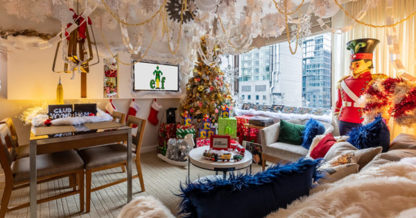 Eat Spaghetti With Maple Syrup at Wyndham's Over-the-Top Elf Suite