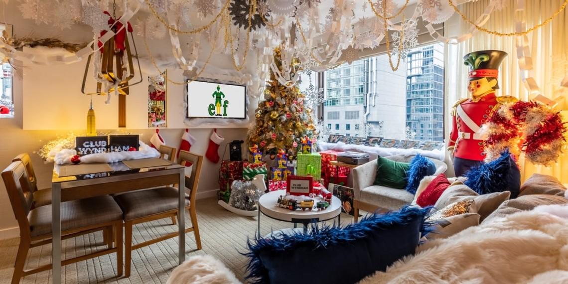 Wyndham Elf themed suite