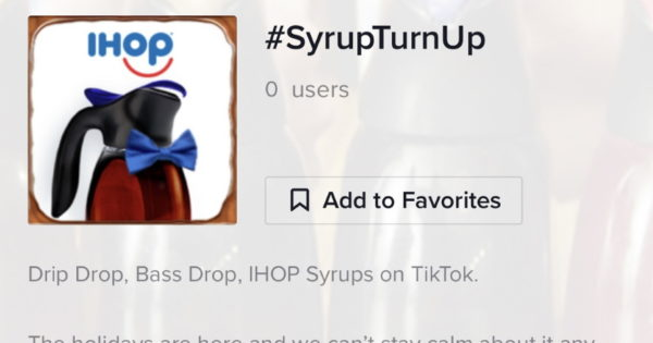 IHOP Kicks Off a (Really) Sweet TikTok Challenge