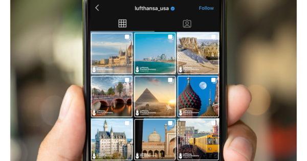 Lufthansa Begins Boarding 'DM Destination' Contest on Instagram
