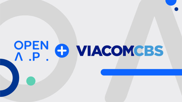 the openAP and viacomcbs logoso