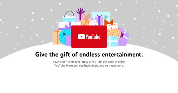 YouTube Gift Codes Are Available via Amazon in the U.S.