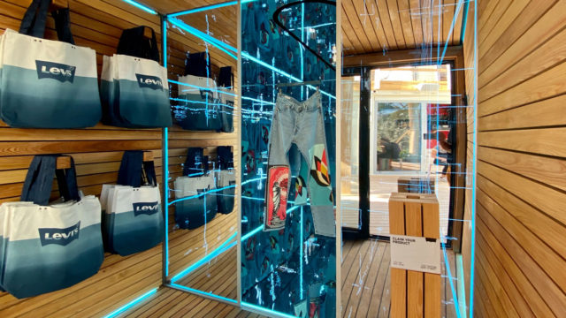 levi's pop-up shop in miami