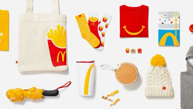 McDonald's online products