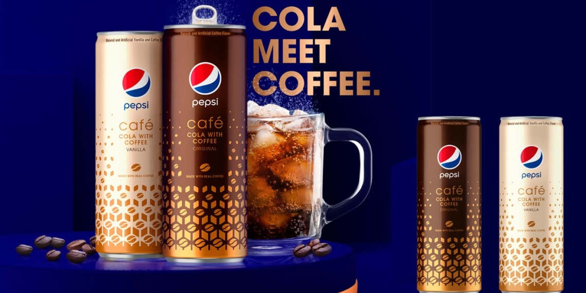 the new pepsi cafe cans