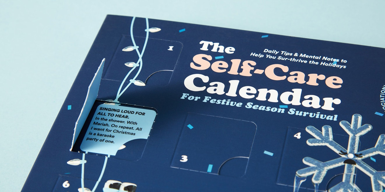 An image of the Self-Care Calendar
