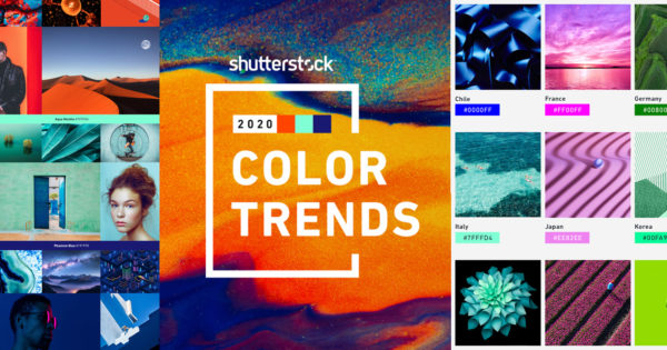 Shutterstock Predicts 'Maximalist' Hues Will Dominate Marketing and Creativity in 2020