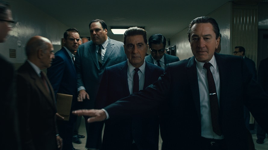 a still image from the irishman movie