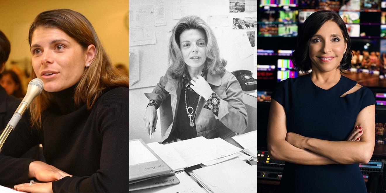 Mia Hamm, Grace Mirabella and Linda Yaccarino