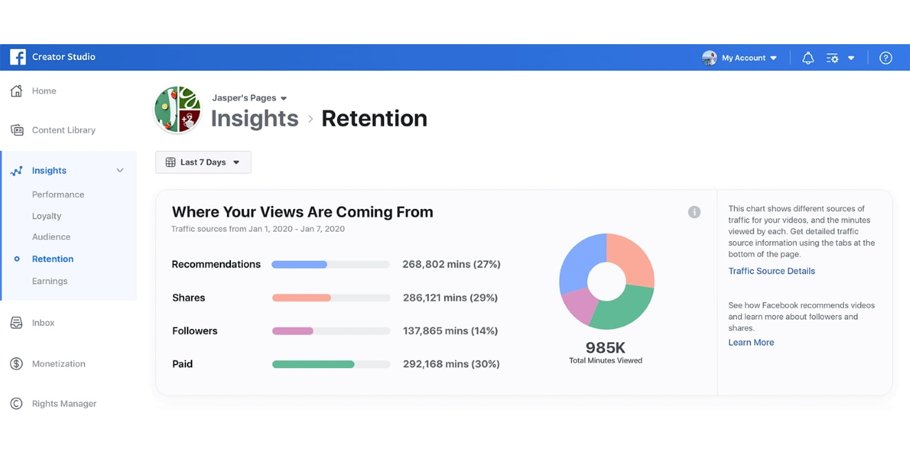 Facebook Adds Traffic Source Insights for Creators and Publishers of Videos