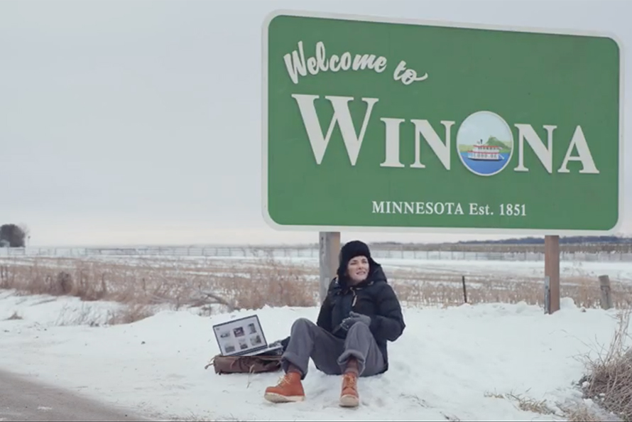 Squarespace Brings Winona To Winona In Its Latest Super Bowl Ad 01/29/2020