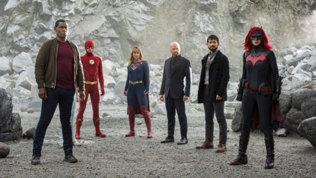the superheroes of crisis of infinite earths