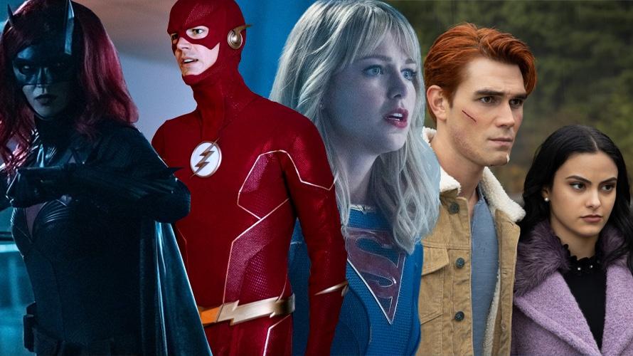 Batwoman, The Flash, Super Girl, Riverdale