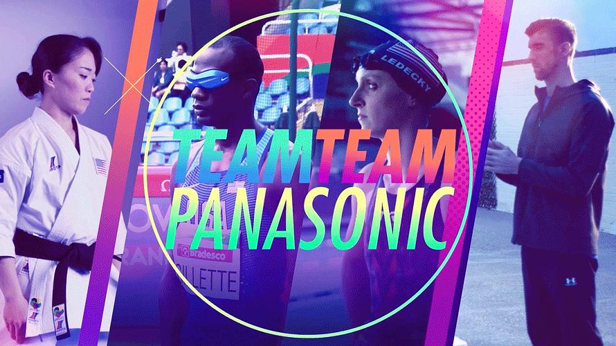 Panasonic's sponsored athletes.