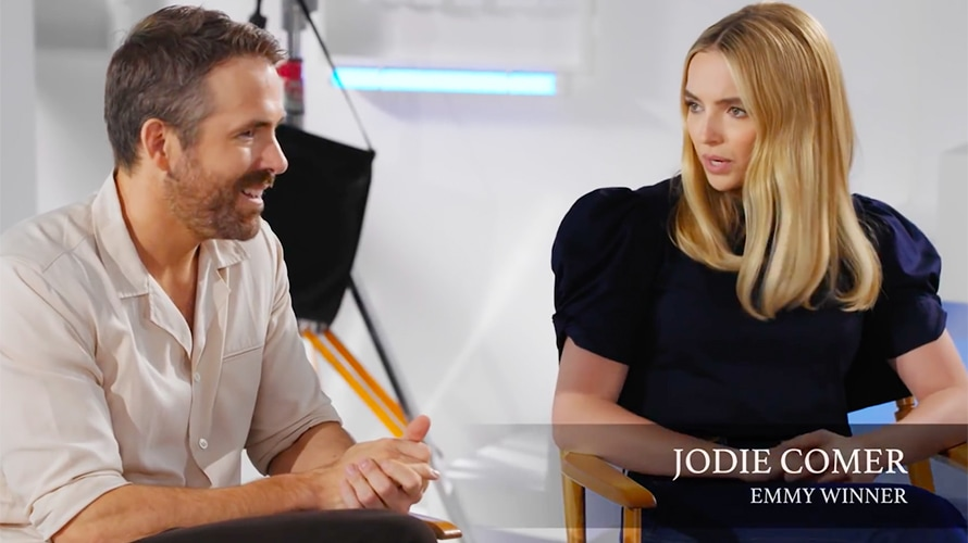 Ryan Reynolds Struggles to Match Acting Accolades With Killing Eve's Jodie Comer