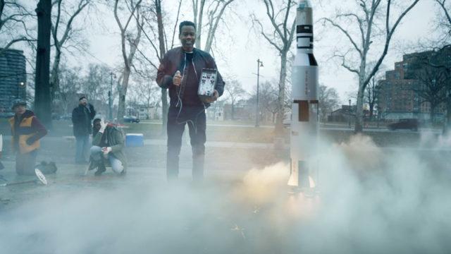 Chris Rock brought a big rocket to Facebook's Big Game spot.