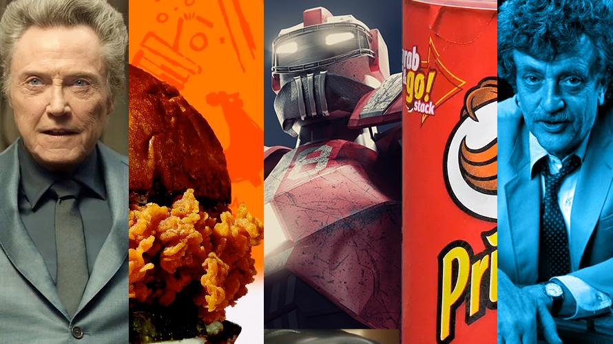 Christopher Walken, Popeyes chicken sandwich, Iron Man, Pringles and Kurt Vonnegut