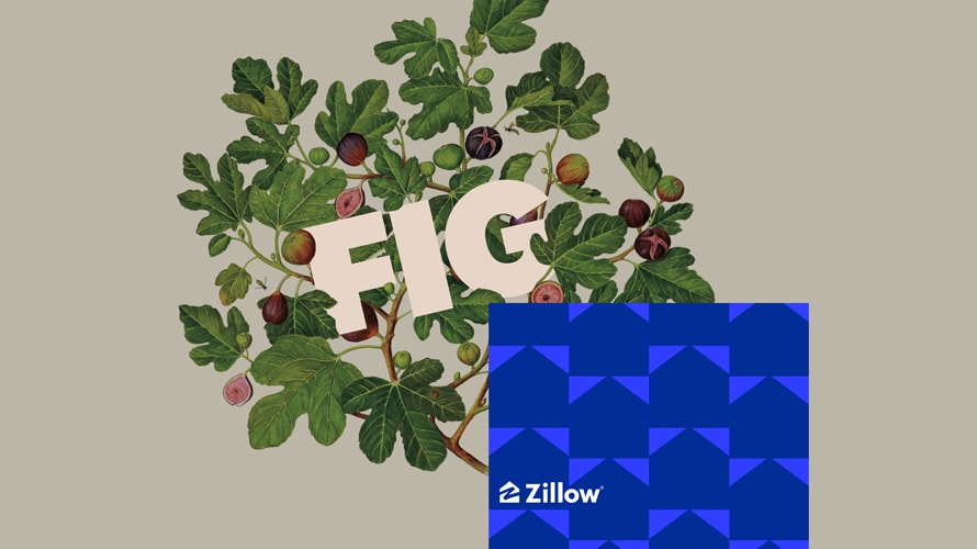 the fig and zillow logos