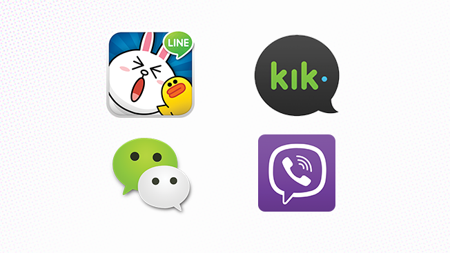 Here Are 4 Mobile Messaging Apps Marketers Need to Know About in 2016