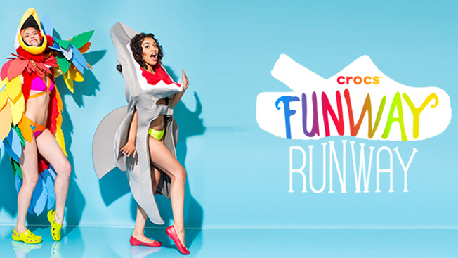 Crocs Bets Big on Interactive Twitter Videos With 'Funway Runway' Effort