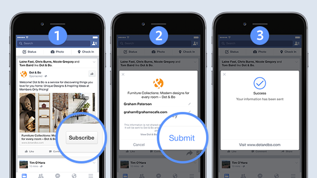 Facebook Tests Mobile Ads That Could Cure Lead-Generation Ills