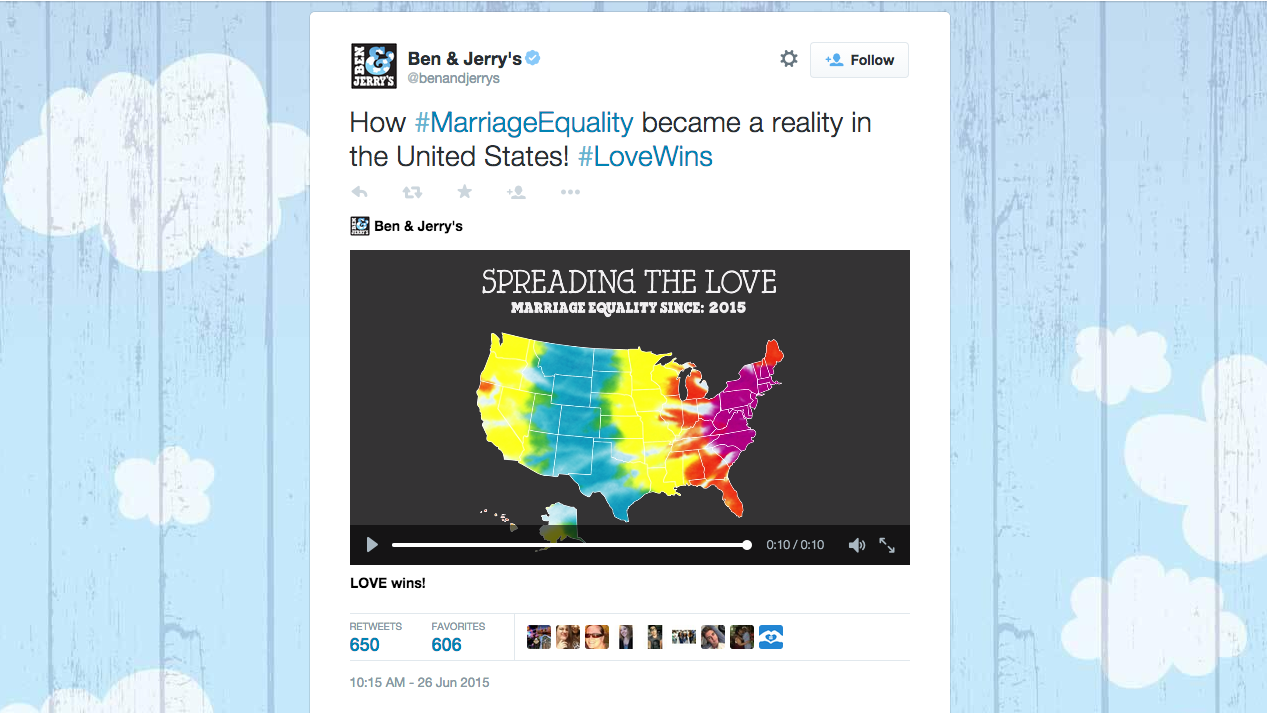 12 Winning Brand Tweets That Followed the Supreme Court's Same-Sex Marriage Ruling