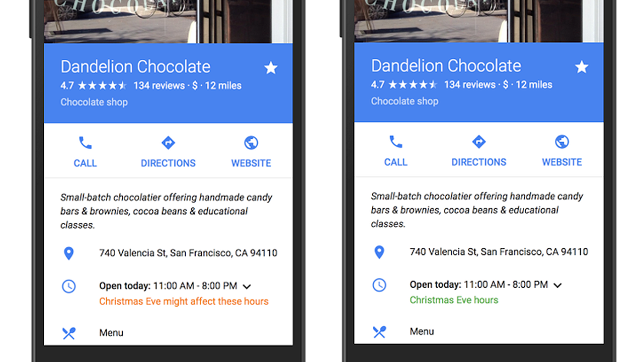 Google Is Now Publishing Holiday Store Hours for Maps and Search ...
