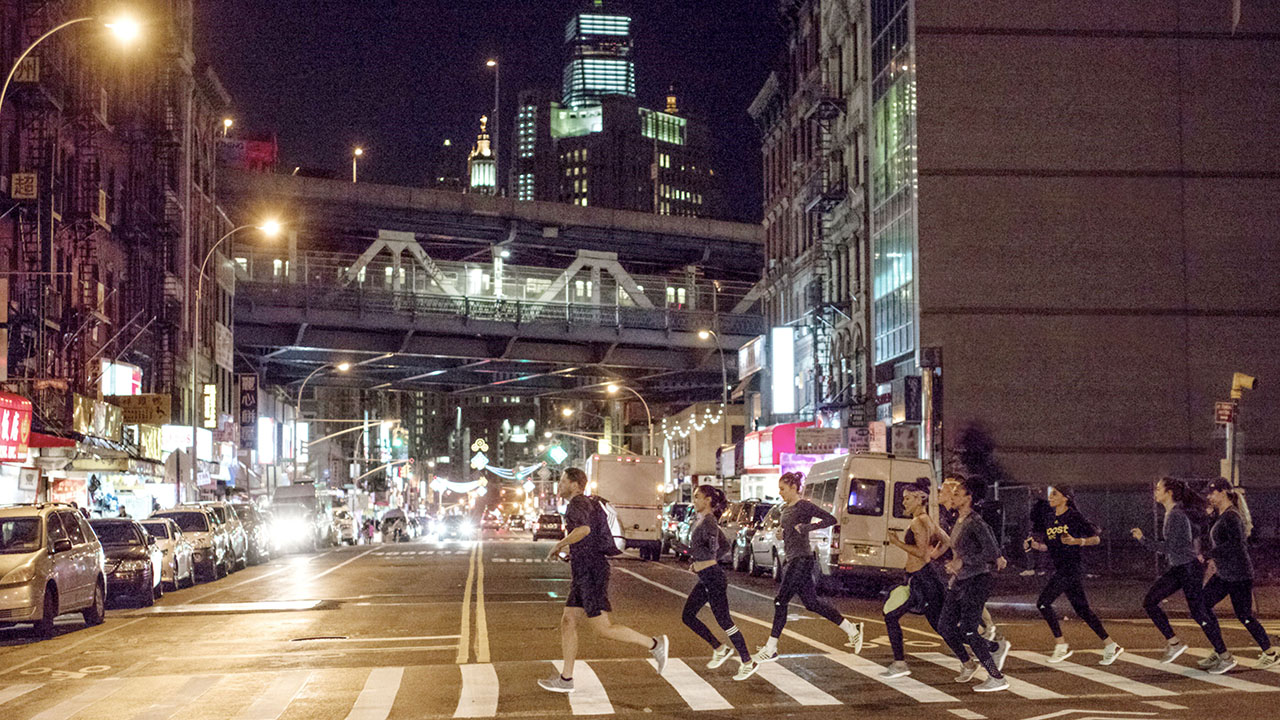 Adidas Taps Influencers for a Unique Run Through the Streets of New York