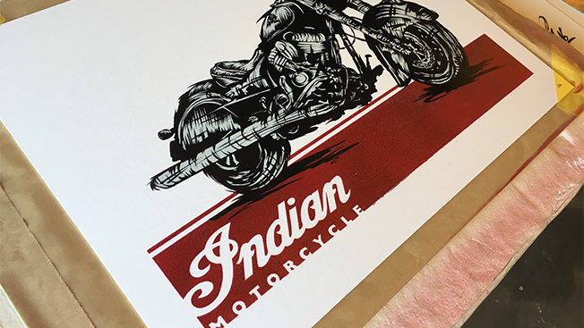 Indian Motorcycle Is Competing With Harley-Davidson by Giving Away Art