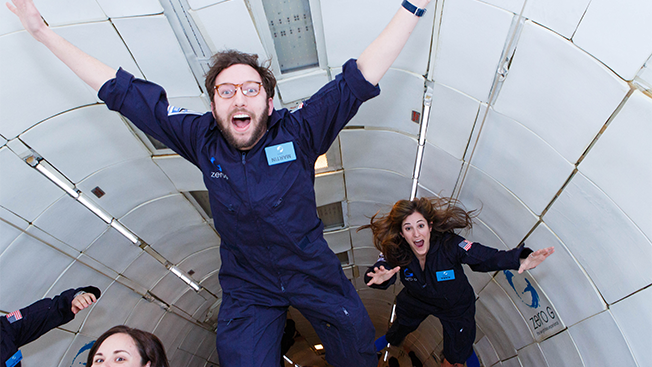What I Learned When I Flew to Zero Gravity With an Oatmeal Brand and