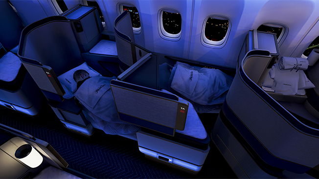 United Airlines Is Using Virtual Reality to Show Off Its Swanky New Business Class