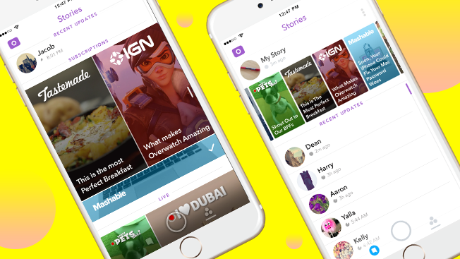 Snapchat's Redesign Is Aimed at Attracting More Eyeballs for Publishers and Brands