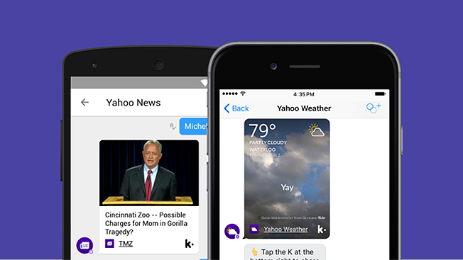 Yahoo Enters the World of Chatbots With a Weather Bot, a