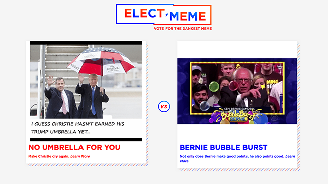 Created for Election Season, This Website Lets You Vote for Your Favorite Political Memes