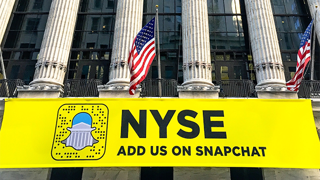new york stock exchange is courting millennials with snapchat