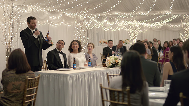 Bud light raises a beer to bromances in new famous among friends new tagline kicks off friendship focused campaign aloadofball Image collections