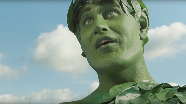 say hello to the new  extremely lifelike jolly green giant