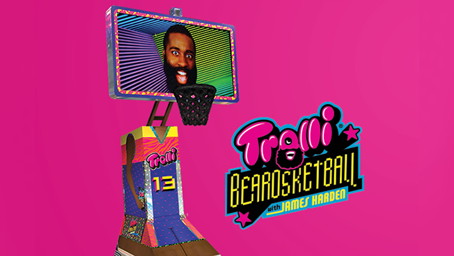 James Harden's Beard Has a Big Role in Trolli's 'Beardsketball' Game for Snapchat Spectacles – Adweek