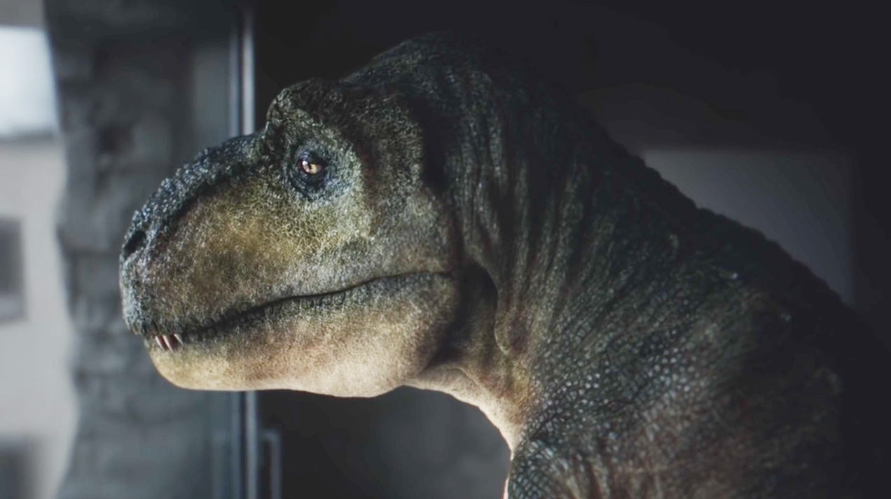 A Depressed T Rex And His Tiny Arms Find Relief In This