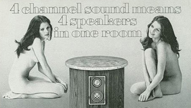 Ads for Stereo Equipment Sure Got Weirdly Sexist and NSFW Back in the '70s