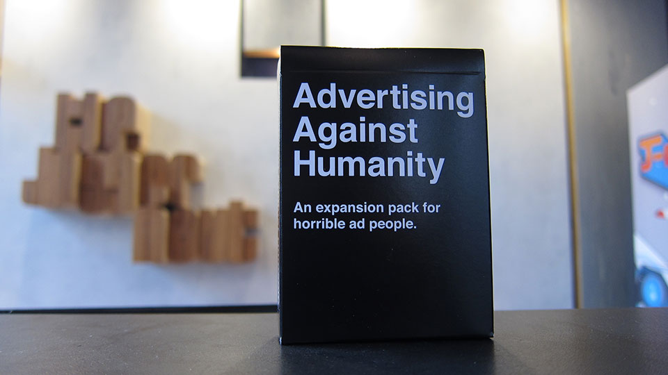 If You\'re a Horrible Ad Person, You\'ll Love This Cards Against ...