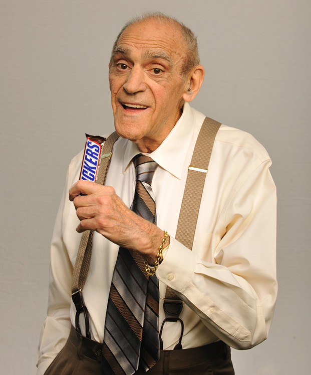 Abe Vigoda Did It All In Advertising From A Live 1951 TV Spot To The 2010 Super Bowl