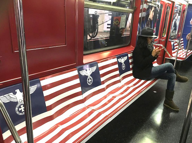 Why Amazon Plastered This Nyc Subway Train With Nazi And Imperial