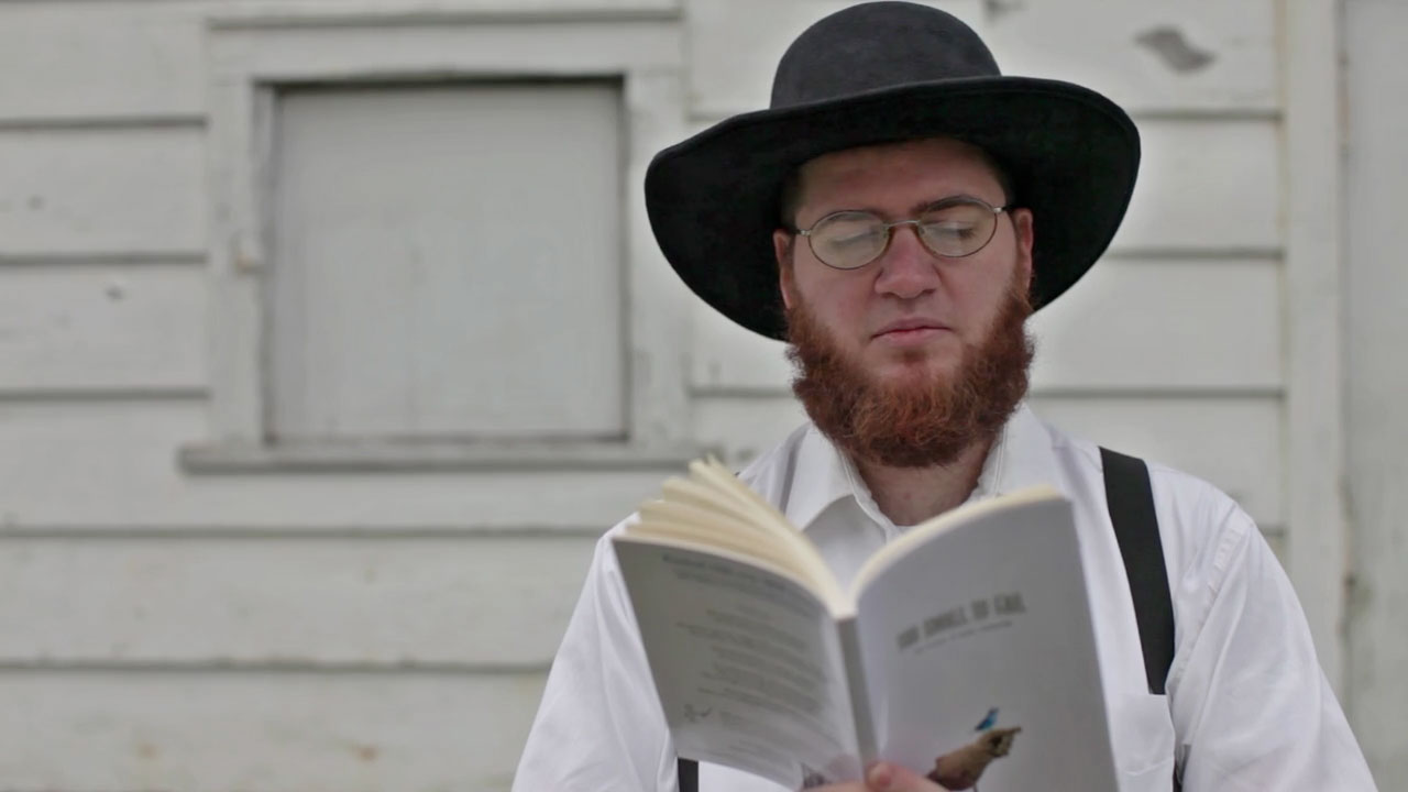 copywriter publishes a book of tweets gets amish guy to advertise
