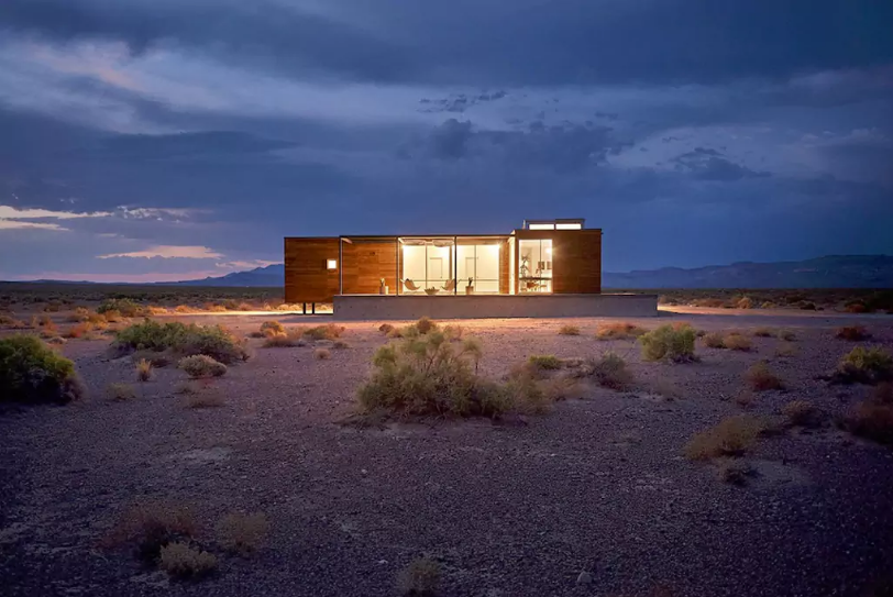 Audi And Airbnb Offer Up A Crazy House In Death Valley