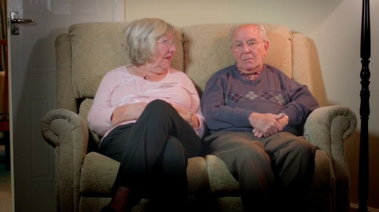 3 of Britain's Oldest Couples Recall Their Happiest Moment in Insurer's Touching Video