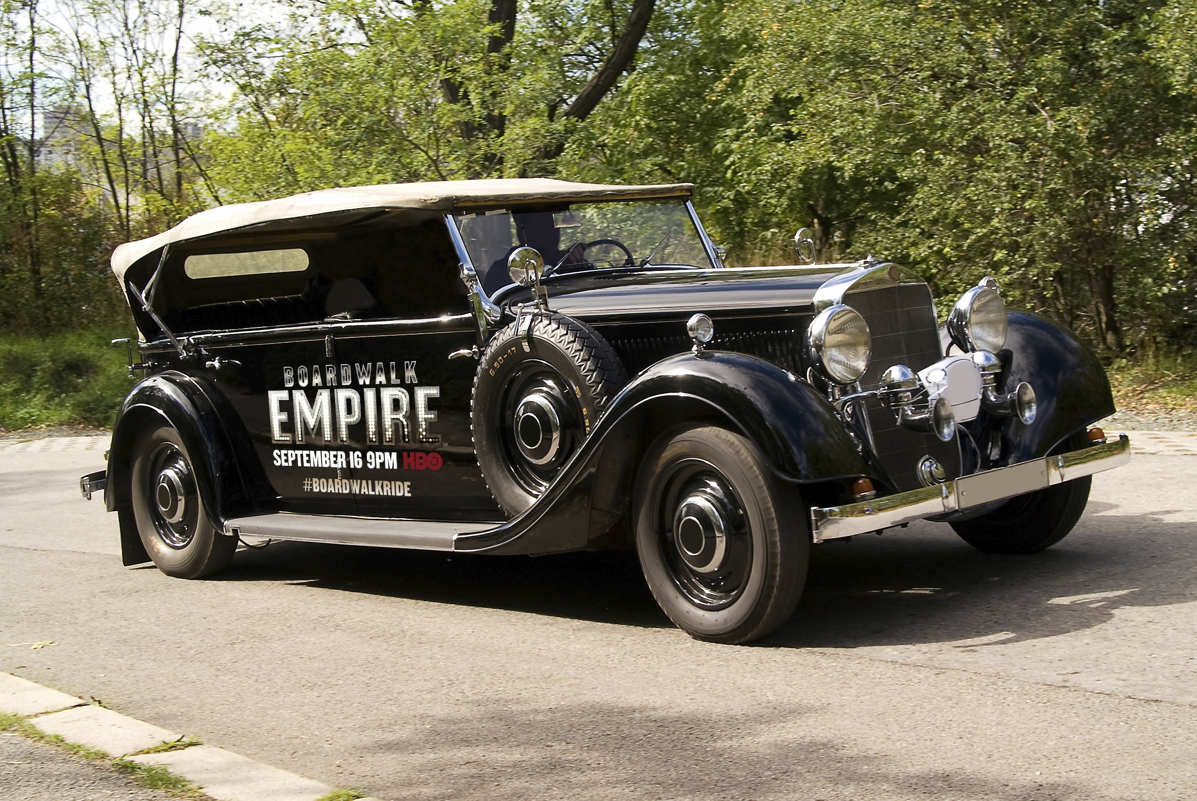Boardwalk Empire Offers Taxi Rides In 1920s Vehicles